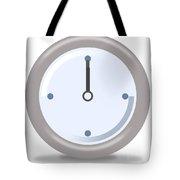 Clock Twelve Tote Bag