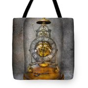 Clocksmith - The Time Capsule Tote Bag by Mike Savad