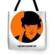 Clockwork Orange Poster 1 Tote Bag
