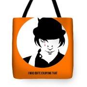 Clockwork Orange Poster 2 Tote Bag by Naxart Studio