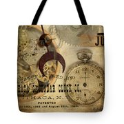 Clockworks Tote Bag by Fran Riley
