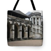 Cloister And Staircase Cathedral Tours Tote Bag