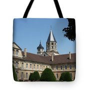 Cloister Cluny Garden View Tote Bag