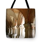 Cloister In Fontenay Abbey, France Tote Bag