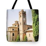 Cloister Monte Oliveto Maggiore Tote Bag