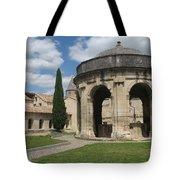 Cloister Of Saint John Chartreuse Du Val De Benediction Tote Bag