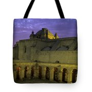 Cloisters At Sunset Arequipa Peru Tote Bag