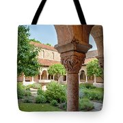 Cloisters Courtyard Tote Bag