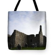 Clonmacnoise Cathedral Tote Bag