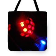 Close Contact With A Red Unidentified Flying Object Tote Bag