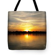 Close Of Day Tote Bag