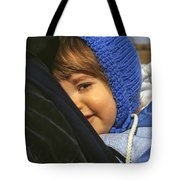 Close To My Daddy Tote Bag