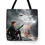 Close To The Edge - Yes Tote Bag