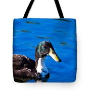 Close Up Duck Tote Bag