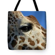 The Giraffe's Eye Tote Bag