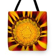 Close Up Marigold Tote Bag