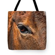 Close Up Of A Horse Eye Tote Bag by Paul Ward