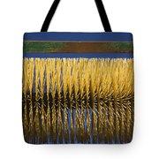 Close-up Of A Mechanized Circular Brush Tote Bag