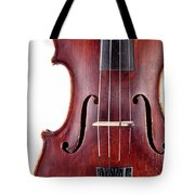Close Up Of A Violine Tote Bag