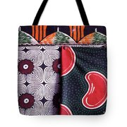 Close Up Of Colorful Khangas For Sale Tote Bag