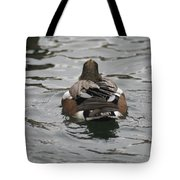 Close Up Of Duck Back Tote Bag