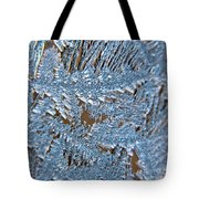 Close Up Of Frost Tote Bag