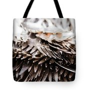 Close Up Of Heap Of Silver Forks Tote Bag