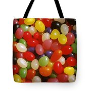 Close Up Of Jelly Beans Tote Bag