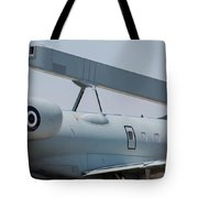Close-up Of Radar On The Hellenic Air Tote Bag