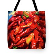 Close-up Of Red Chilies, Taos, New Tote Bag