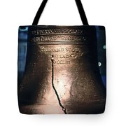 Close-up Of The Liberty Bell Tote Bag