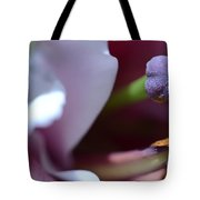 Close Up On A Lily Tote Bag