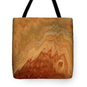 Close-up One Of Agate Seven From The Poured Agate Painting Collection Tote Bag