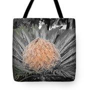 Close Up Palm Tote Bag