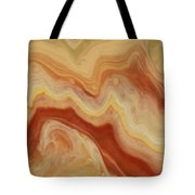 Close-up Two Of Agate Seven From The Poured Agate Painting Collection Tote Bag