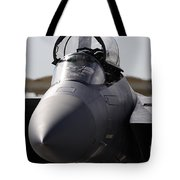 Close-up View Of A F-15c Eagle Tote Bag