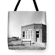 Closed Bank, 1936 Tote Bag