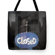 Closed Sleep Tight Tote Bag