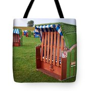 Closed Sunchairs Tote Bag