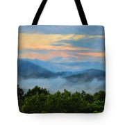 Closer To Heaven In The Blue Ridge Mountains Tote Bag