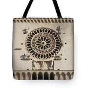 Closeup Of Assisi Cathedral Tote Bag