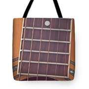 Closeup Of Guitar Art Prints Tote Bag