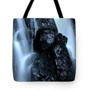 Closeup Waterfall Tote Bag