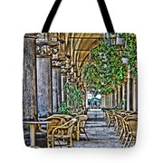 Cloth Hall Cafe In Krakow Tote Bag
