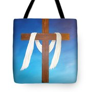 Cloth Of Christ Tote Bag