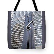 Clothespin Tote Bag