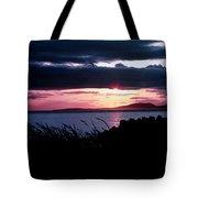 Lake Sunset Tote Bag