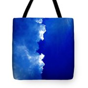 Cloud 50 50 Tote Bag
