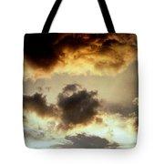 Golden Cloud Tote Bag