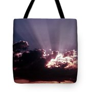 Dramatic Sunset Tote Bag